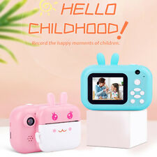 Children Instant Print Selfie Camera 24MP Dual Lens HD Kids Toys Birthday Gift