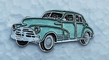 CHEVROLET FLEETLINE 1948, LAPEL PIN BADGE, 39x20mm. BUTTERFLY PIN FIXING.