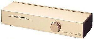 LUXMAN AS-55 Speaker Selector Passive High Definition Audio 3 Line NEW
