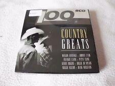 100 Country Greats -5 CD box-Neuf dans sa boîte