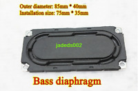 2pcs Bass diaphragm Speaker passive board Vibration plate Home Bluetooth Audio
