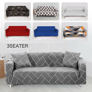 1/2/3 Sofa Covers Couch Slipcover Stretch Elastic Fabric Settee Protector Soft