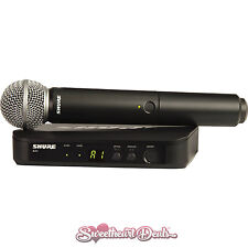 Shure BLX24/SM58-H10 BLX24 Wireless Vocal System w/ SM58 Handheld Microphone
