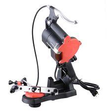 Electric Chain Saw Sharpener 4800RPM Bench Wall Mount Grinder Wheel Tool Brake