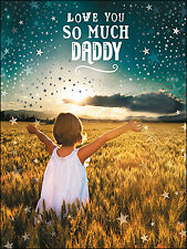 Leanin' Tree Fathers' Day Card  - Most Special Girl in the World Theme - ID#522