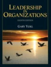 Leadership In Organizations 8e Int'l Edition