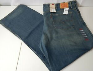 Levi's Men's 559 Relaxed Straight Light Blue Jeans Size 50 x 34
