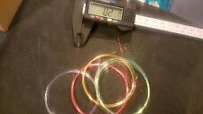 "Pse Hogg Archery Pin sight fiber optic 2' total .019""/.5mm thick, 6 colors"