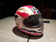 motorbike helmet Arai Mick Doohan Honda repsol