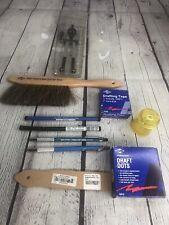 Lot of 10 Alvin Germany Drafting Supplies Duster Tech Da Leads Sandpaper