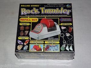 VINTAGE TOY  1998 ROLLING STONES ROCK TUMBLER REFILL KIT UNOPENED BOX
