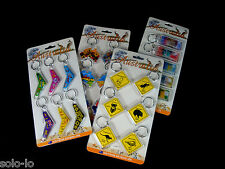 Assorted Pack of 23 Australian Souvenir Keyring Keyrings Gift New