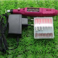 Electric Nail Drill Machine Art Salon Manicure File Polish Tool Pedicure Set New