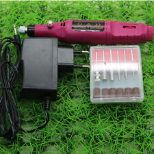 Professional Manicure Pedicure Electric Drill Nail Pen Machine Set Kit Great