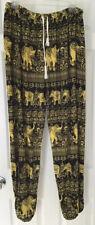 Elephant Pants Womens Harem Pants Hippie, Boho,Yoga Pants, 100% cotton XL