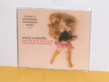 MAXI CD - ELVIS COSTELLO - TEAR OFF YOUR OWN HEAD