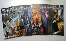 IDW-Star Trek The Next Generation-Doctor Who Lot Of 6 Issues # 1B,2, 4,5,6 & 7