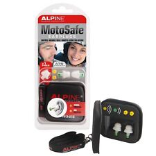 Alpine MotoSafe Gehörschutz Ohrstöpsel Lärmschutz für Motorrad Sport Arbeit
