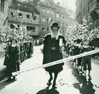 Ravensburg - Umzug beim Rutenfest - um 1960         S 22-16