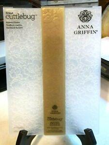 Cricut Cuttlebug Embossing Folder by Anna Griffin,Rosette Cluster 5x7
