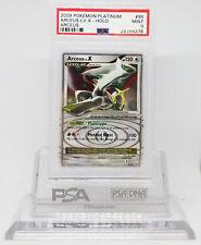 Pokemon PLATINUM ARCEUS LV X 95/99 HOLO FOIL CARD PSA 9 MINT #28386276