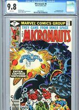 Micronauts #8 CGC 9.8 White Pages 1st Captain Universe Marvel Comics 1979