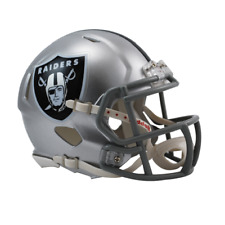 Riddell Football Americano NFL Replica Mini velocità CASCO Oakland Raiders