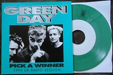 "Green Day- Pick A Winner 7"" on limited Green Vinyl BBC Sessions RARE!"