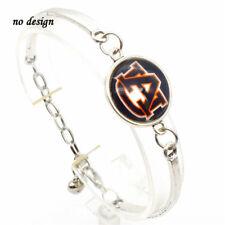 University of Auburn Tigers Logo Bracelet Silver Color Free Tracking Metal New