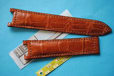 echt Louisiana Krokoband für Pasha 20mm  mittelbraun