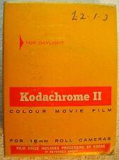 Vintage Kodak Kodachrome II 16mm Color Movie Film Reel W/ Box 1968 Sealed