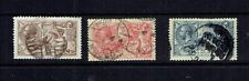 GREAT BRITAIN - 1919 KING GEORGE V SEAHORSES - SCOTT 179 TO 181 - USED