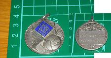 medaglia in argento figc gioco calcio arbitro schiazza bruno 1941 1953 soccer