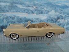 1/43 Western models  1966 Pontiac GTO  white metal