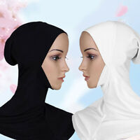New Women Muslim Under Cap Bone Bonnet Ninja Hijab Islamic Neck Cover Hat Conven
