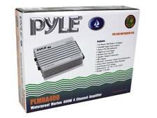 NEW PLMRA400 Pyle Marine Waterproof 4 Channel Amp