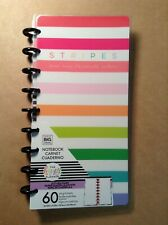 New Me Amp My Big Ideas The Happy Planner Stripes Are My Favorite Notebook
