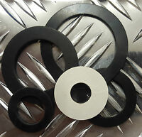 2 x Bespoke Teflon PTFE Washers Spacers 0.5mm thk Size 42mm to 60mm o//s dia