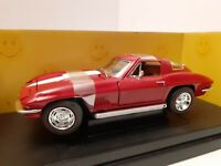 Ertl Collectables 1967 Corvette in Red 1:18 Scale NIB Removed for pictures