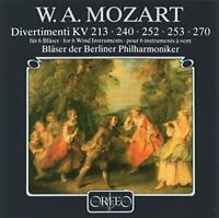 Wolfgang Amadeus Mozart - Mozart: Divertimenti for 6 Wind Instruments [CD]