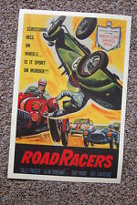 Road Racer Lobby Card Movie Poster Salley Fraser