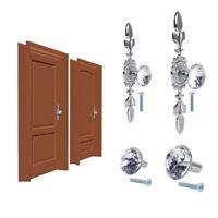 Glass Diamond Crystal Dresser Knobs Drawer Furniture Pull Handle Cabinet Door