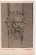 The Sanctuary Knocker, Durham Cathedral Postcard B587