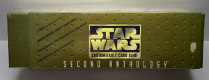 STAR WARS Customizable Card Game 1998 CCG Second Anthology FACTORY SEALED New