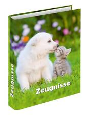 "Zeugnismappe / Zeugnisringbuch / ""Hund + Katze"""