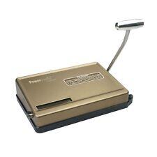 Powermatic® 150 Manual Cigarette Injector Machine - Gold