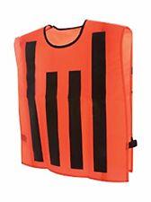 Men's Chains & Box Vest, Orange, Set of 3, XL