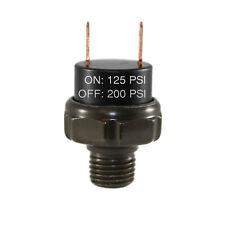 125 200psi Air Pressure Switch Tank Mount Thread 14 Npt 12v24v For Train Horn
