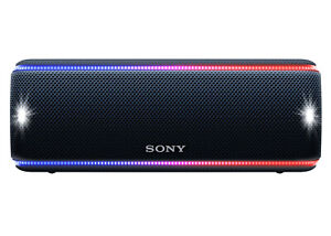 Sony SRS-XB31 Portable Bluetooth Speaker Black