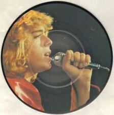 """Leif GARRETT siento la necesidad 7"""" imagen Disco en Plástico Transparente Manga, Orig 1979 L"""